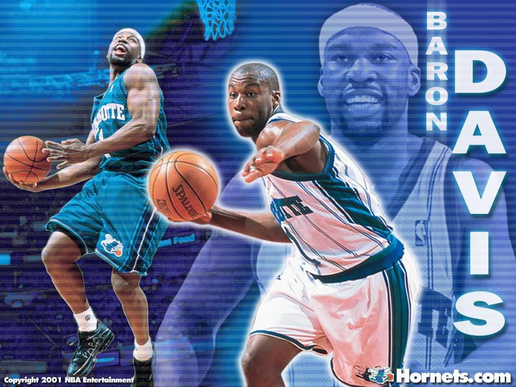 Baron Davis - Charlotte Hornets