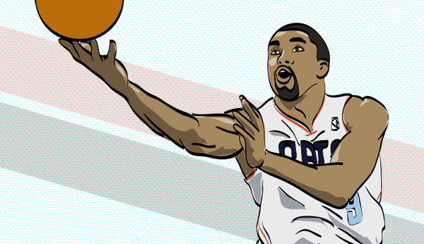 Gerald Henderson Illustration by Mike S