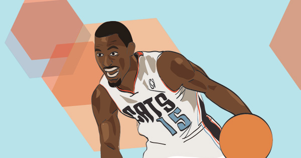 Kemba Walker Illustration by Mike S