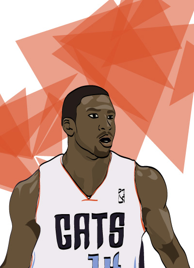 Michael Kidd-Gilchrist Illustration by Mike S