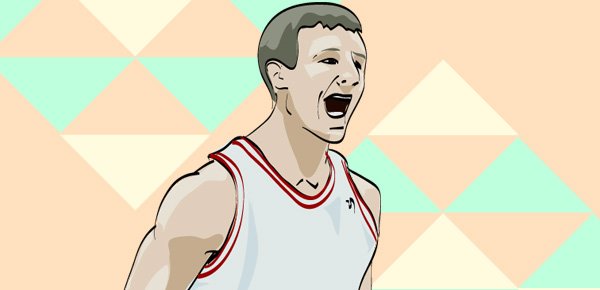 Cody Zeller illustration by Mike S.