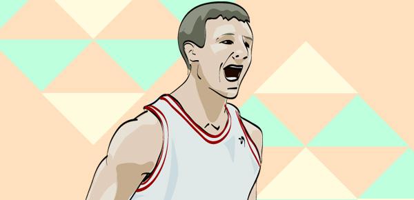 Cody Zeller illustration by Mike S.